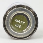 Humbrol 0226 Matt Interior Green